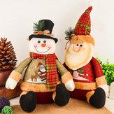 Ozdoby świąteczne Sztuczna lalka renifera Flanelowe prezenty świąteczne Zabawki świąteczne ozdoby do domu