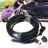 30ft 10M 5800PSI High Power Pressure Washer Extension Jet Hose Water Pipe M22 X M14 Thread