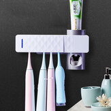 UV Toothbrush Sterilizer Toothbrush Holder Automatic Toothpaste Dispenser