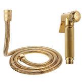 銅の浴室の携帯用ビデのスプレーヤーの世帯の個人的な衛生学のw / 1.5mのステンレス鋼のホースのための便器のビデのシャワー・ヘッド