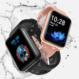 Bakeey LF27PLUS 1.69inch Curved Screen Wristband Weather Display Heart Rate Blood Pressure Blood Oxygen Body Temperature Measurement Smart Watch