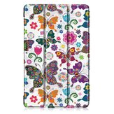 Tri-Fold Printing Tablet Case Cover for Samsung Galaxy Tab A 10.1 2019 T510 Table - Butterfly