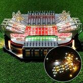 DIY LED-lichtverlichtingsset ALLEEN voor LEGO 10272 Old Trafford For United Stadium Bricks Toy