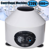 800D Electric Centrifuge Machine Lab Laboratory Medical 4000RPM w/ 6x20ml Rotor