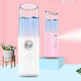 5V USB Portable Pore Facial Steamer Nano Mist Face Sprayer Увлажнение Уход за кожей