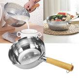 Derin Tencere Tencere Tava Pot Süt Pot Mini Sos Tava Stockpot Tencere