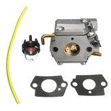 Carburetor Gaskets Primer Blub Fuel Line For WT-827 Ryan Ryobi 7843/753-05133