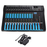 12 Channel Mixing USB Console Bluetoot Professional Live Studio Audio Mixer