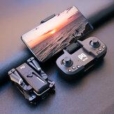 WLRC KK1 Mini WiFi FPV with 4K Dual HD Camera 50x ZOOM Altitude Hold Mode Foldable RC Drone Quadcopter RTF