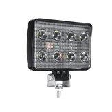 4 дюймов 9V-30V 12V 24V 2400lm 24W LED Рабочий свет Прожектор для бездорожья Лампа Прожектор 6000K белого цвета Для мотоцикл Авто Грузовик Лодка Бар