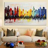 120x60 سنتيمتر الحديثة مدينة قماش مجردة اللوحة المطبوعة غرفة المعيشة الفن جدار ديكور no إطار ورقة الفن