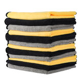 MATCC 12PCS Super Absorbent Towels Microfiber Cleaning Cloths Car Professiona Care Washable Multi Use