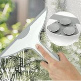 Glass Window Squeegee Shower Bathroom Mirror Wiper Kitchen Cleaner Water Vapor Removal With Suction