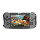 Coolbaby RS3128 Android 4.0 32GB Console de jogo portátil 3000Games 4.0 Polegada HD Tela dupla Arcade Retro Handheld Game Player Suporte PSP N64 PS1 Arcade GBA GBC