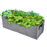70 x 25 x 25cm Plant Root Pots Pouch Grow Bag Container Container Garden Rectangle Fabri