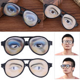 Halloween Costume Party April Fool's Day Eyewear Toys Funny Glasses Mask Masquerade Cosplay Makeup Glasses Funny Costume Eye Glasses Toy Halloween Party Prop Gag Gift