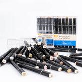 Finecolour EF102 Huidskleur Markeerstift Set 24/36 Kleuren Kwast Tip Tweekoppige Art Markers Strip Kunstbenodigdheden Vilt Tip Grafisch Ontwerp Tekengereedschappen