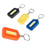 Mini COB portatile LED Portachiavi campeggio Luce da lavoro Torcia tascabile per escursioni all'aperto TORCIA