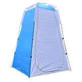 Portable Instant Tent Camping Shower Toilet Outdoor Waterproof Beach Dress Changing Room With Rear Window & Inside Pocket