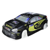 1/10 Rc On-Road Drift Car Body PVC Shell with Rear Wing for Subaru Impreza Turbo Parts