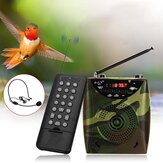 Multifunctional 65W Wireless Remote Control Electronic Bird Caller Hunting Teaching Smplifier Meeting Guide Speaker