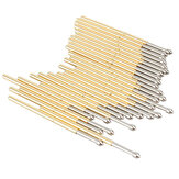 P100-E2 100Pcs Çap 1.36mm Uzunluk 33.3mm 180g Yay Testi Probe Pogo Pin Parçalar