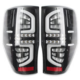 Pair Clear LED Car Rear Tail Light for Ford Ranger PX Mk1 and Mk2  XL XLS XLT 2011-Up