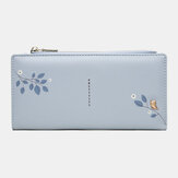 Women 10 Card Slots Long Wallet Purse Phone Bag