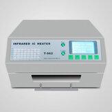 Forno ad onda di riflusso T-962 a infrarossi del riscaldatore da tavolo del riscaldatore Saldare BGA SMD Forno di rifusione della stazione di rilavorazione SMT