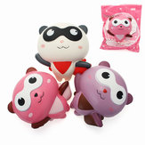 YunXin Squishy Panda Man Robin Team 12cm Slow Rising Met Packaging Collection Gift Decor Toy