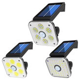 ARILUX 45SMD/54SMD/54COB Solar Light Light+Motion Sensor 3 Modes Security Wall Lamp IP65 Waterproof Outdoor