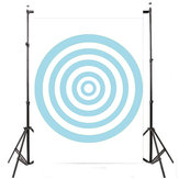 3x5FT Blue Circle Photography Achtergrond Foto Studio Achtergrond