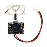 Eachine TX02 NTSC Süper Mini AIO 5.8G 40CH 200mW VTX 600TVL 1/4 Krista FPV Kamera