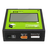 Power Genius PG T610 120W 10A Lipo Bateria Balance Charger Touch Screen Support 4.35-4.40V LiHV