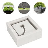 DIY Silicone Concrete Mold Flower Pot Planter Cement Vase Soap Mould Garden Decorations