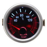 2 Inch 52mm Digital Car Red LED Electronic Water Temp Temperature Gauge And Sensor