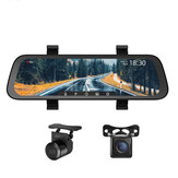 70mai 1080P 9.35Inch Stream Media Car DVR Dash Cam Full Screen Rearview 130FOV Mirror Recorder