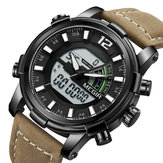MEGIR 2089 Military Sport Style LED Dual Display Men Watch