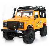 MN90 1/12 2.4G 4WD Rc Car W / Front LED Light 2 Body Shell Imperiaal Crawler Off-Road Truck RTR Toy