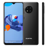 OUKITEL C19 Global Version 6.49 inch HD + Android 10 GO 4000mAh 13MP drievoudige achteruitrijcamera 2GB 16GB MT6737 4G smartphone