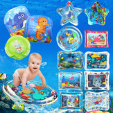 Opblaasbaar speelgoed Water Speelmat Zuigelingen Baby Peuters Perfect Fun Tummy Time Play