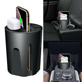 Bakeey X9A 10W QI Wireless Fast Charging Car Charger Cup with Dual USB Output for iPhone 12 for Airpods