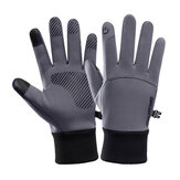 Touch Screen Winter Warm Full Finger Gloves Windproof Waterproof Anti-slip Thermal Outdoor