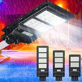 80/120/160 LED Solar Güç LED Sokak Lambası Radar PIR Motion Sensör Duvar Lamba