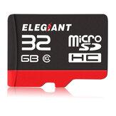 ELEGIANT 32GB Geheugenkaart Professionele klasse 10 Hoge snelheid Micro SD-kaart voor Gopro Computer Laptop PC DSLR Camera Camcorder Drone Mobiele telefoon