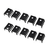 10pcs 7805 Radiator Suitable 20*13*8 Small Heat Sink for TO-220 Packaged Devices