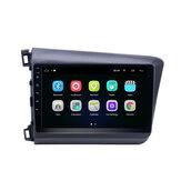 YUEHOO 9 Cal dla Androida Radio samochodowe Odtwarzacz multimedialny 2G / 4G + 32G bluetooth GPS WIFI 4G FM AM RDS dla Honda Civic 2012-2015