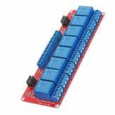 8-kanałowy moduł przekaźnika transoptorowego z wyzwalaczem poziomu 12 V Geekcreit dla Arduino - produkty współpracujące z oficjalnymi płytami Arduino