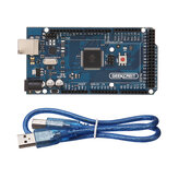 Geekcreit® MEGA 2560 R3 ATmega2560 MEGA2560 Development Board مع USB Cable Geekcreit for Arduino - المنتجات التي تعمل مع لوحات Arduino الرسمية