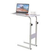 Computador simples Mesa para laptop Mesa preguiçosa Mesa lateral com levantamento móvel Mesa para escritório em casa